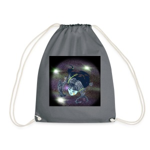 the Star Child - Drawstring Bag