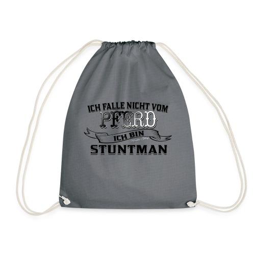 Ich falle nicht vom Pferd ich bin Stuntman Reiten - Turnbeutel