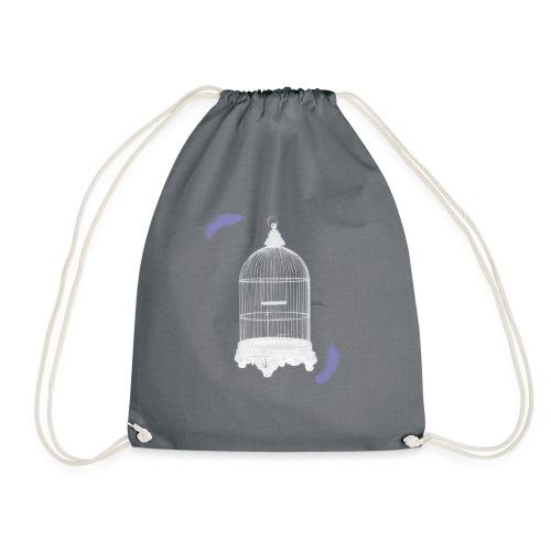 Trapped Inside - Drawstring Bag