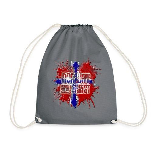 Norway for CHRIST - Drawstring Bag