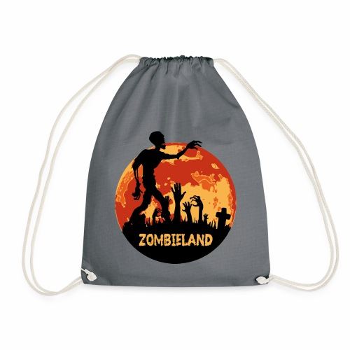 Zombieland Halloween Design - Turnbeutel