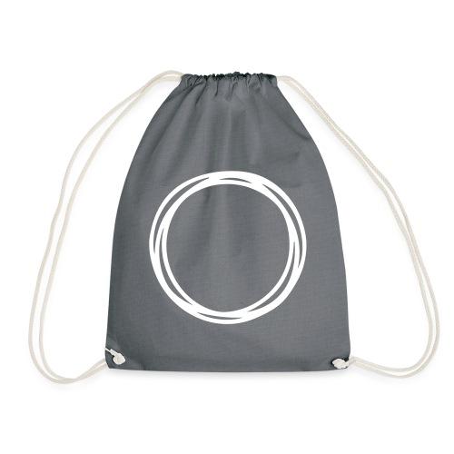 Circles and circles - Drawstring Bag