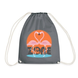 In the Zone Flamingos - Mochila saco