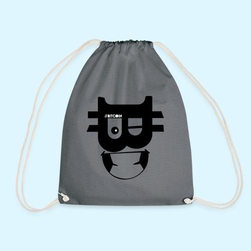 Bitcoin Wink - Drawstring Bag
