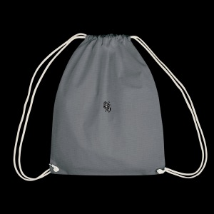 con safos with respect - Drawstring Bag