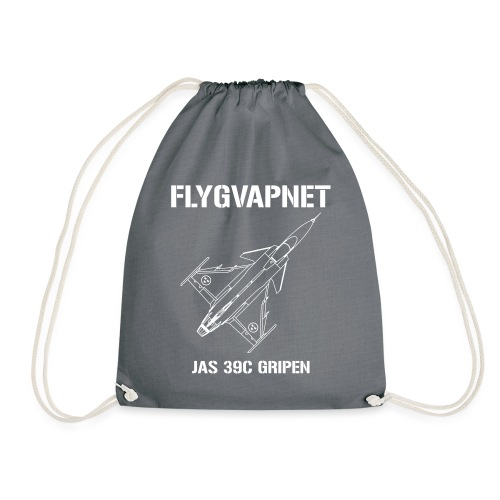 FLYGVAPNET - JAS 39C - Gymnastikpåse