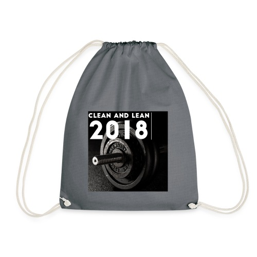 Clean and Lean 2018 - Drawstring Bag