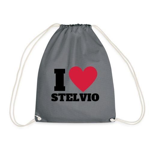 Ich liebe Stelvio - Turnbeutel
