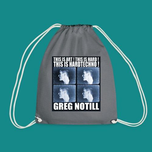 gregnotillbestteeshirtblue - Drawstring Bag