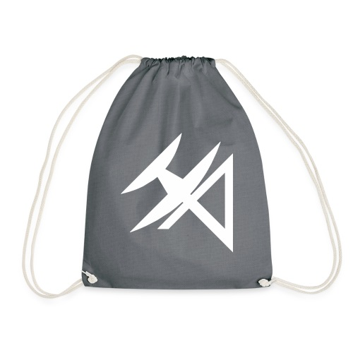 logo HA BLANCO - Drawstring Bag