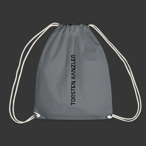 TK_Wortmarke_Senkrecht - Drawstring Bag
