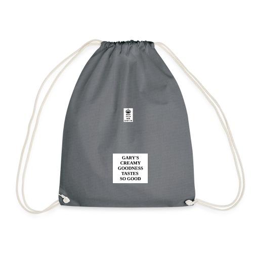 Keep calm and Gary on - Drawstring Bag