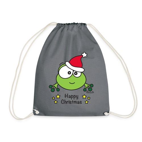 Grenouille, Frog, Fêtes Nôel, Happy Christmas - Sac de sport léger