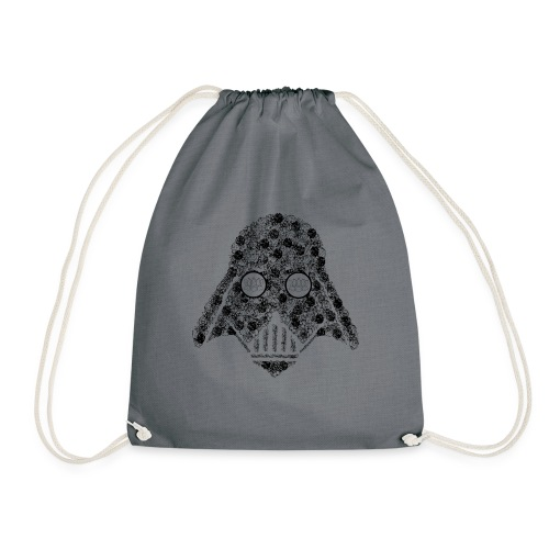 Darth Floral - Drawstring Bag