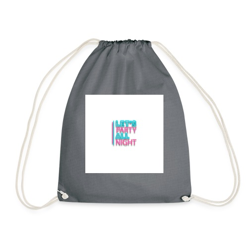 all night - Drawstring Bag