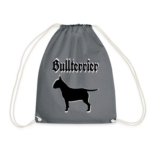 Bullterrier,Terrier,Bulldog,Bulldogge,Hundekopf, - Turnbeutel