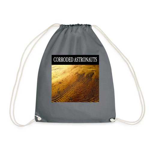 Corroded Astronauts Album Cover - Gymnastikpåse