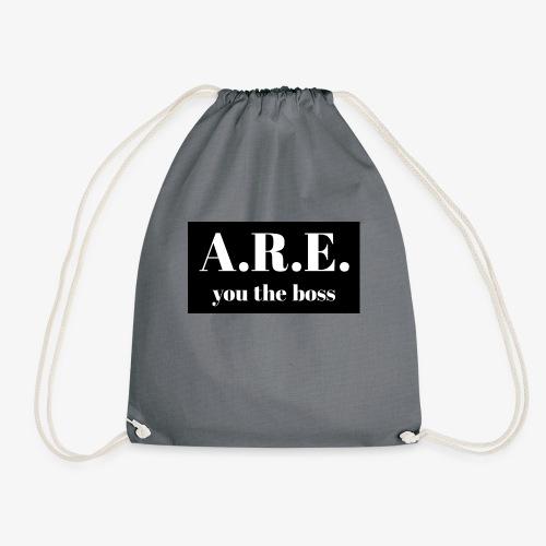 AREyou the boss - Drawstring Bag