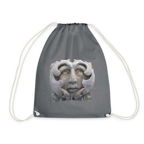 Greenman for Pagans and Druids - Drawstring Bag