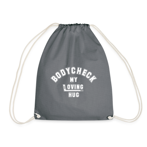 Bodycheck Eishockey T-Shirt Hockey Shirt - Turnbeutel