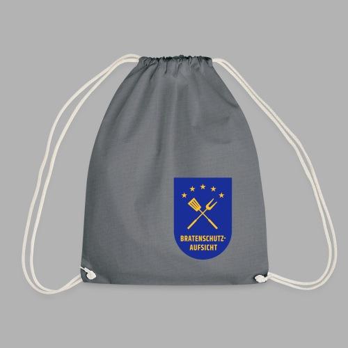 EU Bratenschutz-Aufsicht Dienstabzeichen blau - Turnbeutel