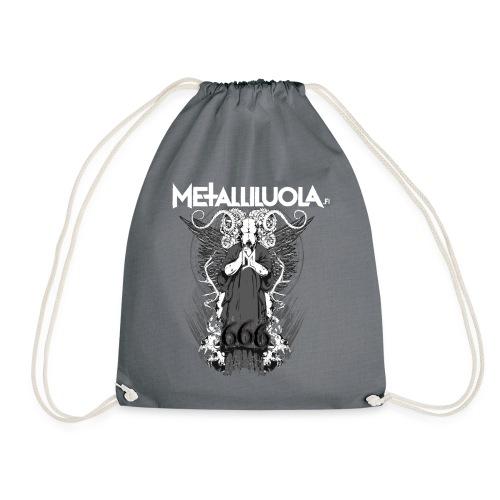 Metalliluola logo ja Demoniac 666 - Jumppakassi