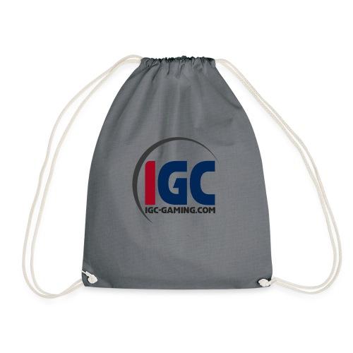 IGC Logo mit Website - Turnbeutel