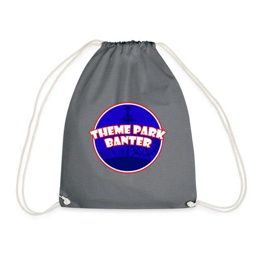 theme park banter logo - Drawstring Bag