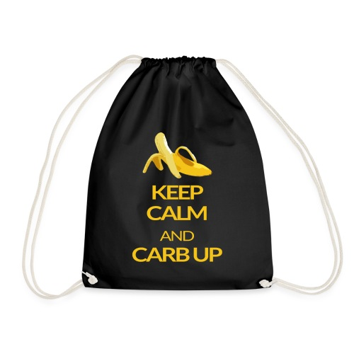 KEEP CALM and CARB UP - Turnbeutel
