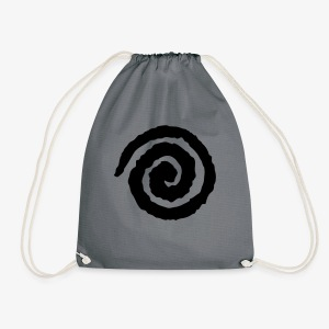 Tomorrow Is Now, Kid! Swirl - Drawstring Bag