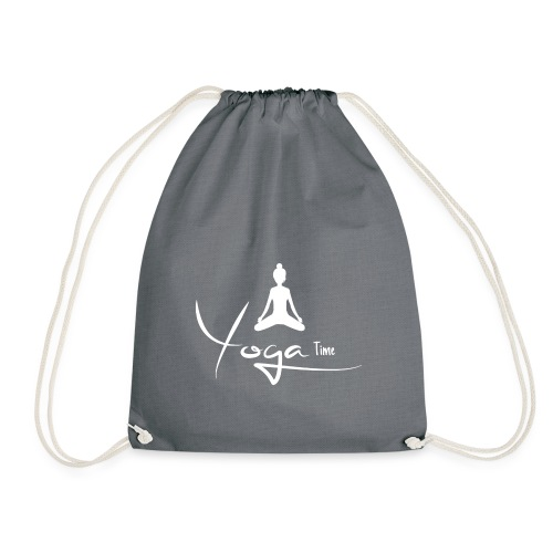 Yogatime white - Turnbeutel