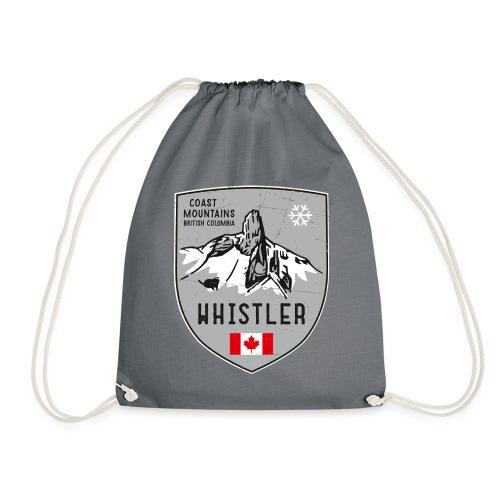 Whistler Canada coat of arms - Drawstring Bag
