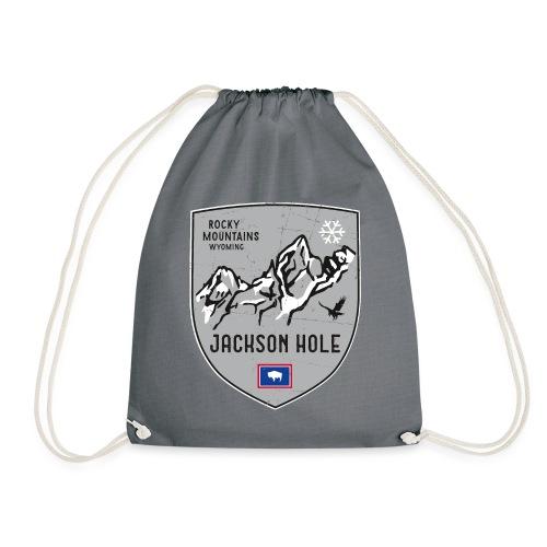 Jackson Hole USA Wappen - Drawstring Bag