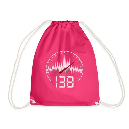 138 (White) - Gymnastikpåse
