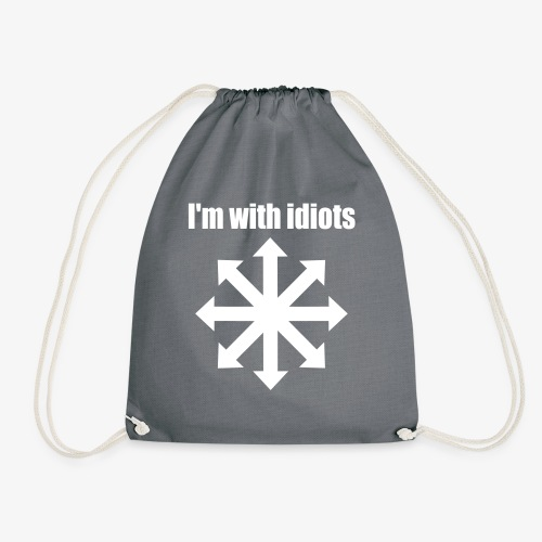 I'm with idiots - Turnbeutel