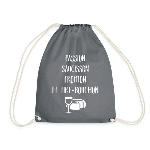 Passion saucisson fromton et tire-bouchon - Sac de sport léger