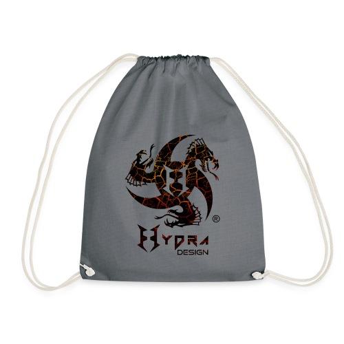 Hydra Design - logo Cracked lava - Sacca sportiva