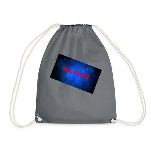 Ava Vlogz design - Drawstring Bag