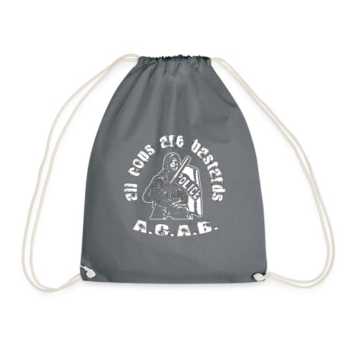 A.CA.B all cops are bastrards - Drawstring Bag