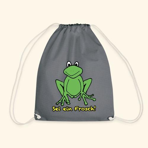 Ein kleiner grüner Frosch! - Turnbeutel