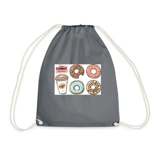 Donut & Coffe - Mochila saco