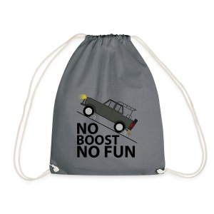 No Boost No Fun - Turnbeutel