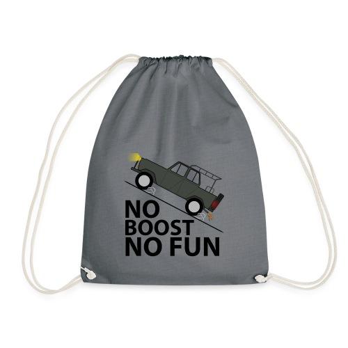 No Boost No Fun - Turnbeutel