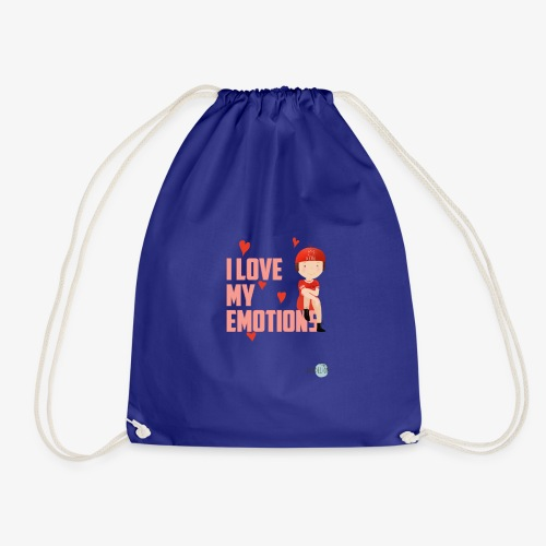 i love my emotions girl - Sacca sportiva