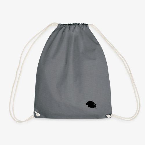 PR3DATOR (Half Logo) [Black] - Drawstring Bag