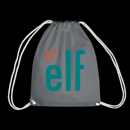No. elf Logo - Turnbeutel