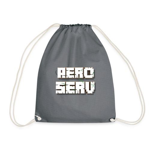 Logo AeroServ - Blanc - Sac de sport léger