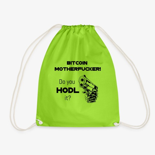 HODL-btcmofo-b - Drawstring Bag