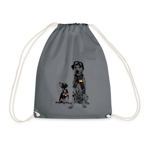 dogs - Drawstring Bag