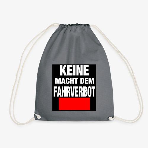 Fahrverbot - Turnbeutel